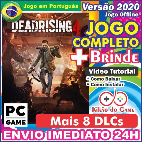 Dead Rising 4 + 8 Dlcs Pc Digital Br + Brinde