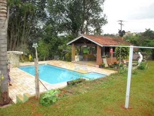 Chácara Com 2 Dormitórios À Venda, 2177 M² Por R$ 650.000- Jardim Imperial - Atibaia/sp - Ch1115