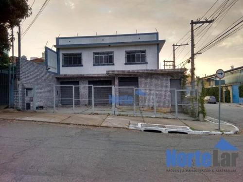 Imagem 1 de 20 de Galpão Comercial Para Locação, Casa Verde, São Paulo - . - Ga0046