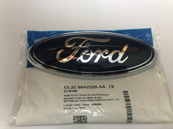 Emblema Tampa Traseira Ford Nova Ranger Com Modelo Que Tem Câmera De Ré Porem Só Venda Do Emblema Cod Cl3z9942528aa