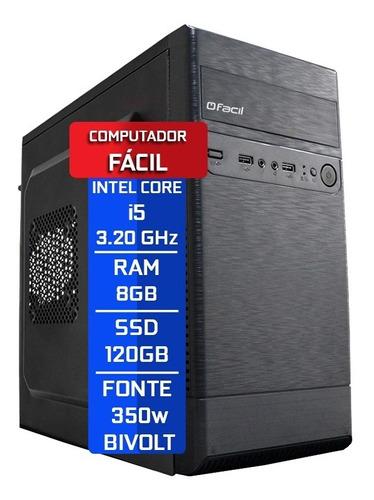 Imagem 1 de 4 de Computador Intel Core I5 3,20ghz 8gb Ddr3 Ssd 120gb