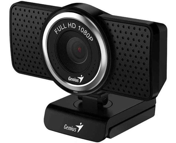 Webcam Genius Ecam 8000 Full Hd Preto