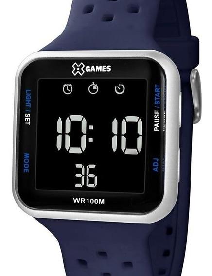 Relógio X-games Masculino Digital Quadrado - Xgppd092 Pxdx