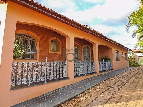 Chácara Com 4 Dormitórios À Venda, 2870 M² Por R$ 1.280.000,00 - Colinas Do Mosteiro De Itaici - Indaiatuba/sp - Ch0324
