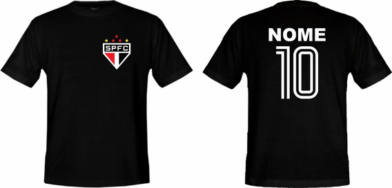 Camiseta Adulto Personalizada Do São Paulo !