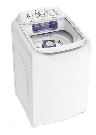 Lavadora de roupas automática Electrolux Jet&Clean LAC12 branca 12kg 220V