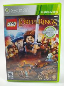Jogo Lego Senhor Dos Anéis Xbox 360 Mídia Física Frete 12,00