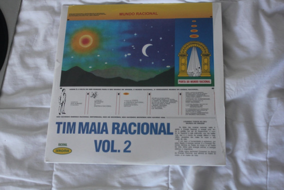 Lp - Tim Maia - Racional Volume 2 - Made In Japan