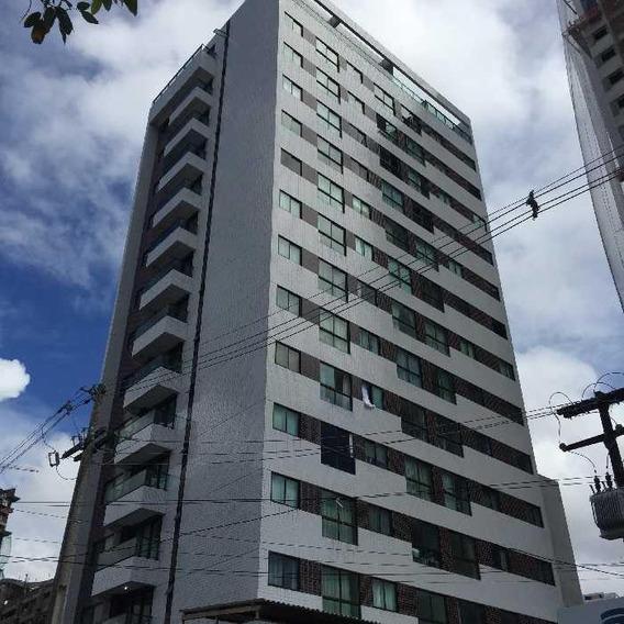 Apartamento Com 1 Dormitório Para Alugar, 35 M² Por R$ 1.300,00/mês - Madalena - Recife/pe - Ap1467
