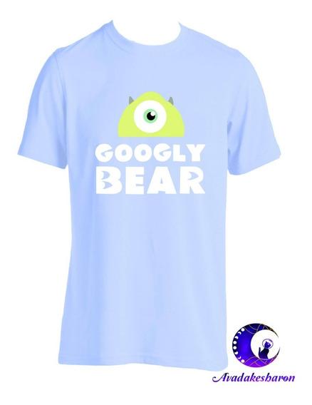 Camiseta Estampada D Mike Ycelia Monster Inc Disney Parejas