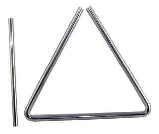 Triangulo Banda Rítmica De 24 Cm Acero