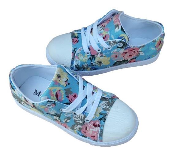 Zapatillas Estampadas Para Nena Muy Lindas Cómodas Art. B056