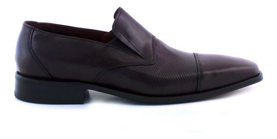 Zapato De Vestir Cuero Hombre Briganti Clasico - Hccz01041
