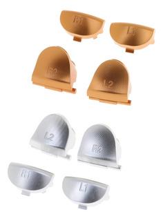 2set Personalizado De Metal L1 R1 L2 R2 Mod Botones Para El