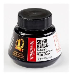 Tinta Speedball Indian Ink Super Black Negra / Tinta China