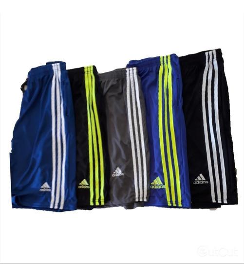 Kit 3 Calção Shorts De Futebol Academia Treino Com Bolso
