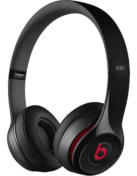 Fone De Ouvido Beats Solo 2 Headphone Preto Remote Talk