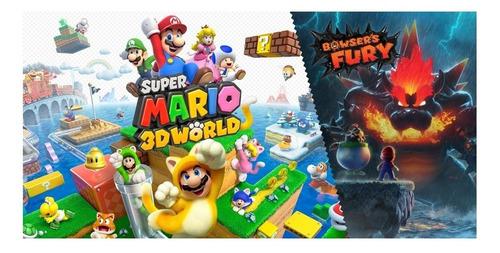Imagen 1 de 3 de Super Mario 3D World + Bowser's Fury Standard Edition Nintendo Switch  Digital