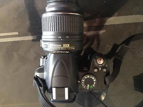 Câmera Fotográfica Nikon D3000 Seminova