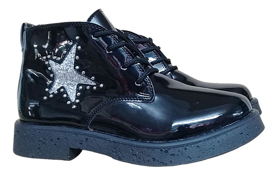 Bota Botineta Savage Dama Zapato Mujer Moda Super Liviana