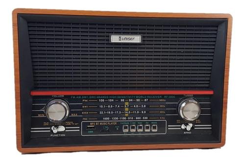 Radio Unisef Rf3500 Usb Wirwless