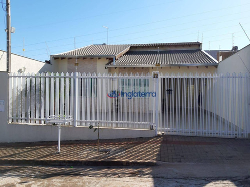 Casa À Venda, 120 M² Por R$ 380.000,00 - Jardim Planalto - Londrina/pr - Ca0893