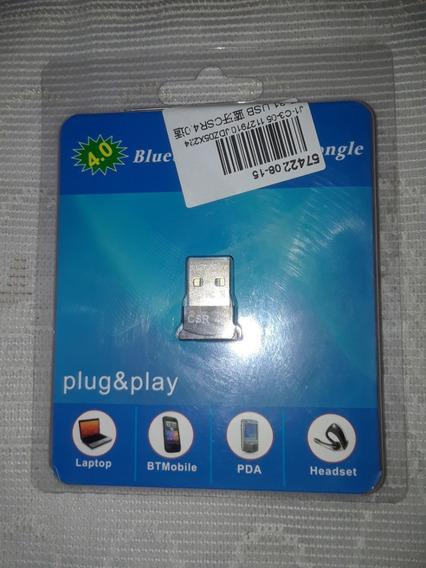 Adaptador Usb Bluetooth 4.0 (15v)