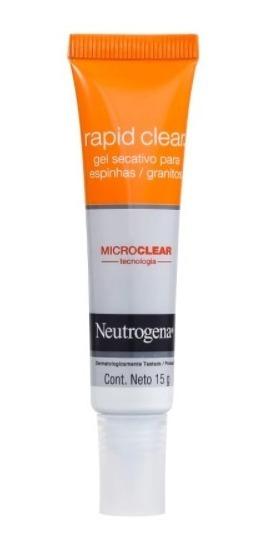 Gel Neutrogena Rapid Clear Secativo 15gr
