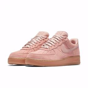 fac617e41c7 Zapatillas Nike Air Force 1 Low Goma Rosado Rosa Nuevo 2017