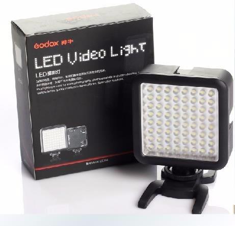 Iluminador Led 64 Godox P/ Dslr Ou Filmadora