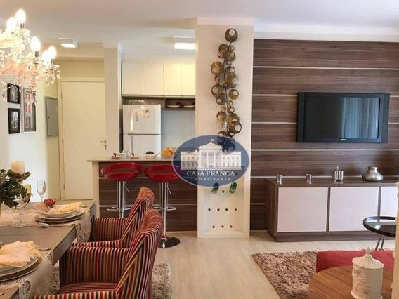 Apartamento Com 2 Dormitórios , 1 Suite À Venda, 84 M², Lazer Completo - Parque Das Paineiras - Birigüi/sp - Ap1056