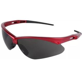 Oculos Nemesis Jackson G12 Flexivel Vermelho Fume Proteçao