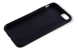 Funda Para iPhone 6 Plus De Silicona Negra Kolke Districomp