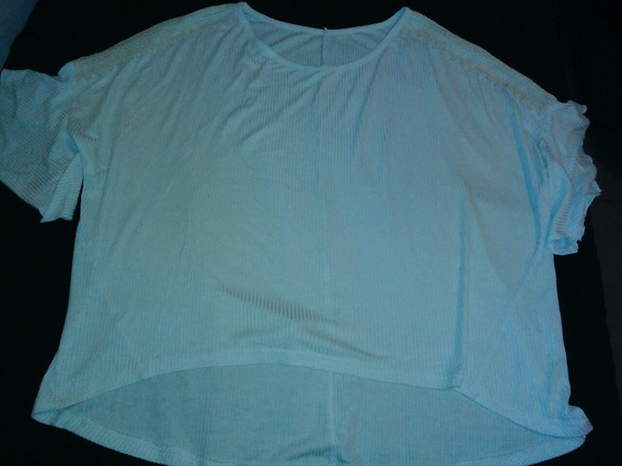 Remeron Blanco Mujer Talle L