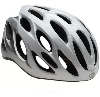 Capacete Ciclismo Bell Draft White/silver Repose