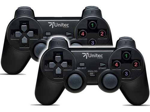 Kit Control De Juegos Gamepad Usb, Dual Shock Análog/digital