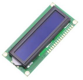 1 Display Tela Lcd 16x2 1602 Backlight Azul Arduino