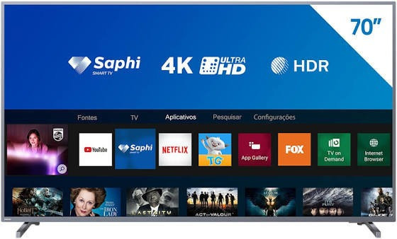 Smart Tv Tela 70 Philips