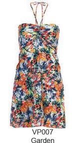 Vestido Para Playa Marca Marina West - Modelo Garden T- S/ M