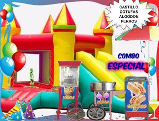 Alquiler De Castillos Inflables, Pasapalos,eventos,sonido