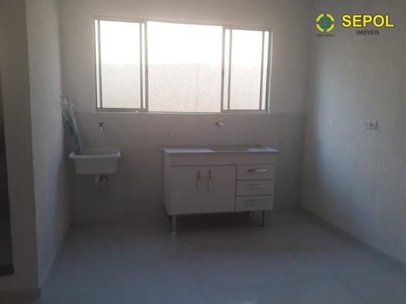 Kitnet Com 1 Dormitório Para Alugar Por R$ 750/mês - Vila Carrão - São Paulo/sp - Kn0013