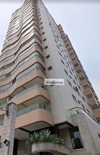 Apartamento Com 2 Dormitórios À Venda, 96 M² Por R$ 470.000,00 - Aviação - Praia Grande/sp - Ap4746