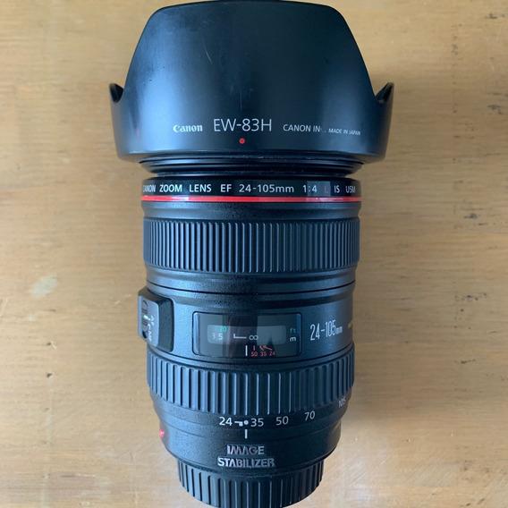 Lente Canon Ef 24-105 4l Is Usm - Linha Vermelha