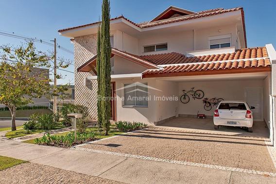 Casa À Venda Em Loteamento Parque Dos Alecrins - Ca007655