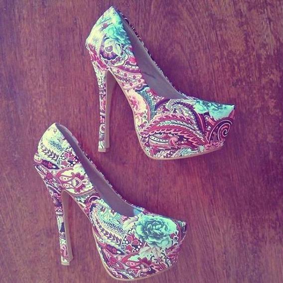 Zapato Estampado