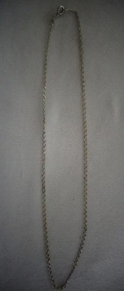 Cordão Prata De Lei 2,4 Gramasn°20