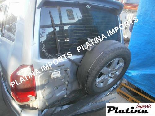 Sucata Pajero Full Gasolina 3.8 V 2004 Para Retirada De Peça
