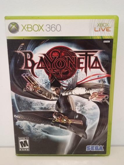 Bayonetta Xbox 360 Midia Física Original P/entrega Ntsc