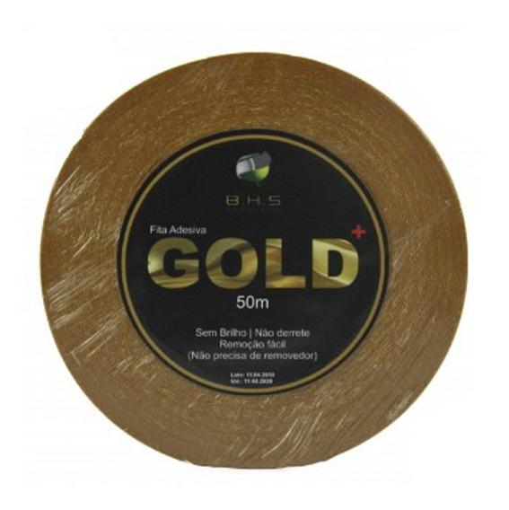Fita Adesiva Gold+ 50 Mts 2,5cm Prótese Capilar Original