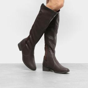 4f4c5d35c2 Bota Feminina Flat Montaria Dakota Kallan Feminino Botas - Sapatos ...